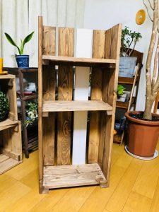 木製シェルフ